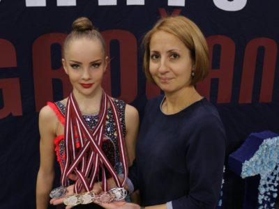 Santa Stepulāne Latvijas Republikas čempione junioru klasē