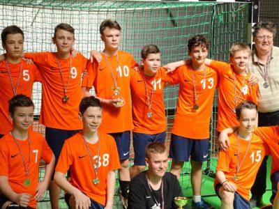 Handbolistiem Latvijas jaunatnes čempionātā sudrabs