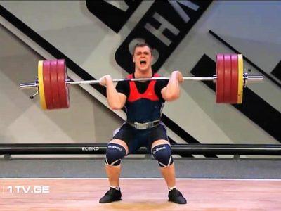 Ogres svarcēlājs Griškovs iekļūst Eiropas čempionāta labāko desmitniekā
