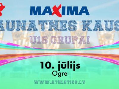 """""""Maxima jaunatnes kauss"""""""