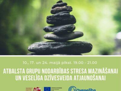 Oveselība aicina uz nodarbībām stresa mazināšanai un veselīga dzīvesveida atjaunošanai
